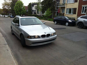 2003 BMW 530I 5 SPEED MANUAL