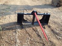 Single prong bale spear for sale