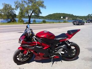 Yamaha r6 candy apple red