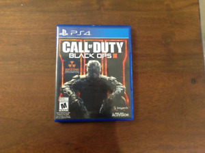 Je vends call of duty black ops 3 à 20$ neuf