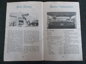 1950 Ford glove box owner's manual London Ontario image 7