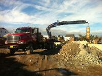 Excavation and Foundation services. Stevie crete