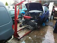 Vw Polo 6n complete engine, box and running gear loom etc