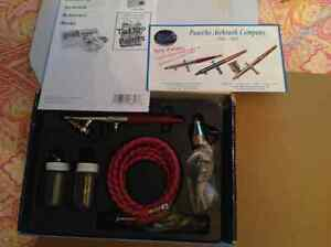 PAASCHE AIRBRUSH SET MODEL# H SET BRAND NEW Cambridge Kitchener Area image 5