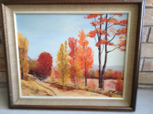 Stan Tourangeau Original Oil Painting. Country Road
