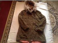 Blonde-blonde ladies coat size 10 used £3