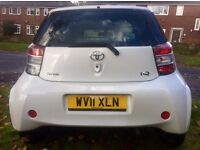 £0 TAX 21000 MILES 2011 TOYOTA IQ VVT-I 998 CC GREAT CONDITION MOT 4.17 ONLY 2 OWNERS