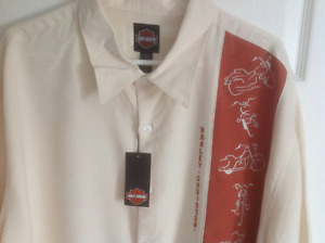 Men's genuine Harley shirt Size 3x