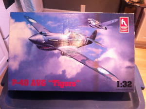3 model airplane kits