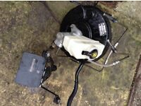 Complete Bmw e46 brake master cylinder with abs pump!
