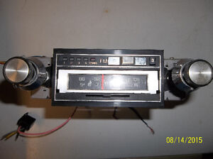Audiovox Model No # GM-TPXB Factory stereo and accessories