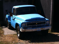 Rare 1966 international short box stepside 4x4 3/4 ton pickup