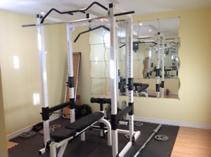 Weight-lifting Power Rack and accessories-Northern Lights