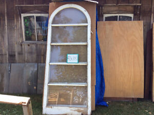 Large antique arched windows