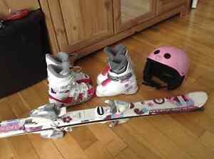 Ski fille 100, bottes gr. 17.5, 18.5