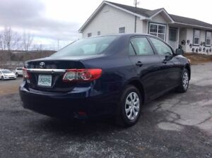 2013 Corolla with Extended Warranty!