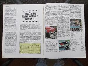 1967 Chevy II and Nova dealer showroom catalog London Ontario image 5