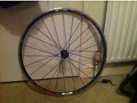 Racing bike wheel