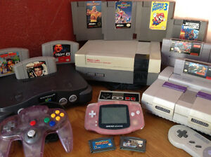 Looking for any Nintendo systems and games!