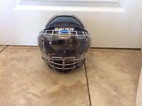 Bauer Hockey Gel Helmet with the Best Clear Itech Cage