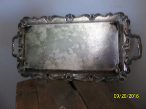 ANTIQUE SILVER TRAY WITH BEAUTIFUL DESIGN Kitchener / Waterloo Kitchener Area image 3
