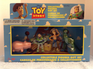 Vintage Disney Toy Story Collectible Figures Gift Set NRFB