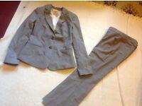 Banana Republic ladies suit petite size: 8 used £4