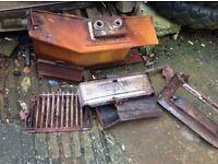 Back boiler scrap metal