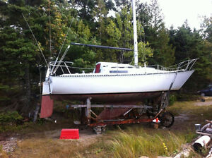 25' C&C Sailboat $6000.00