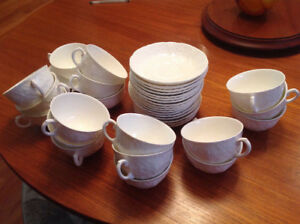 """Wedgwood China """"Countryware"""" - 18 cup & saucer sets. $144.00"""