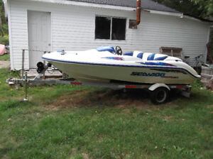 97 SPORTSTER and TRAILER FOR SALE