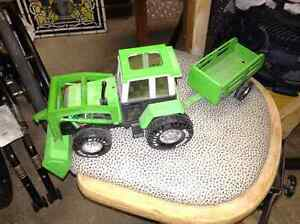Toy tractor with trailer for sale