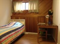Nice and furnished room for weekly rental, Available Now