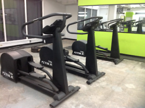 3 Commercial Quality ELLIPTICAL TRAINER(S) and 2 BIKES!!