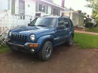 Jeep liberty for parts or put a motor 500$ firm