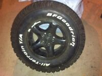Jeep rims with all terrains