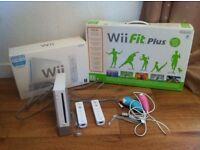 Nintendo Wii +board+ games