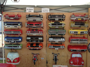Classic Car Shelves