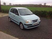 2006 Hyundai Amica 1.1 Gsi blue full mot low tax and insurance group