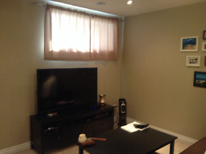 Two bedrooms basement suite available for rent in Fort McMurray