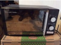 MICROWAVE RUSSELL HOBBS - REDUCED TO £45 COLLECTION NOW FROM HANGER LANE