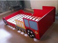 Great little trading company fire engine toddler bed