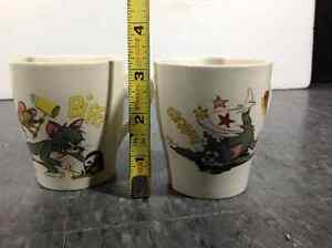 1970's Tom & Jerry cups / mugs by MGM Metro Goldwyn Mayer Cambridge Kitchener Area image 6