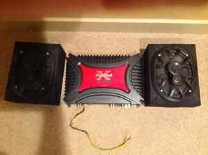 Speaker /Amp Energy 6x9 Speakers and Sony 2 Channel Amp