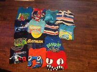 Assorted children's clothing ranging from 6-7