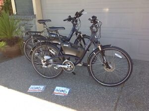 2 Immaculate OHM Electric Bikes Barely used PRICE is per bike