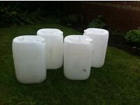 20 litre water container