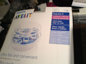 Philips AVENT Microwave Express II Sterilizer for Bottles