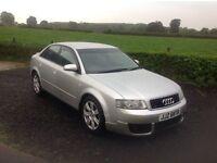 2002 Audi A4 1.9 TDI SE silver motd November 16
