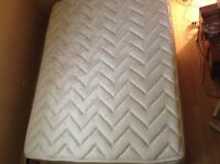 Queen size mattress with box spring
